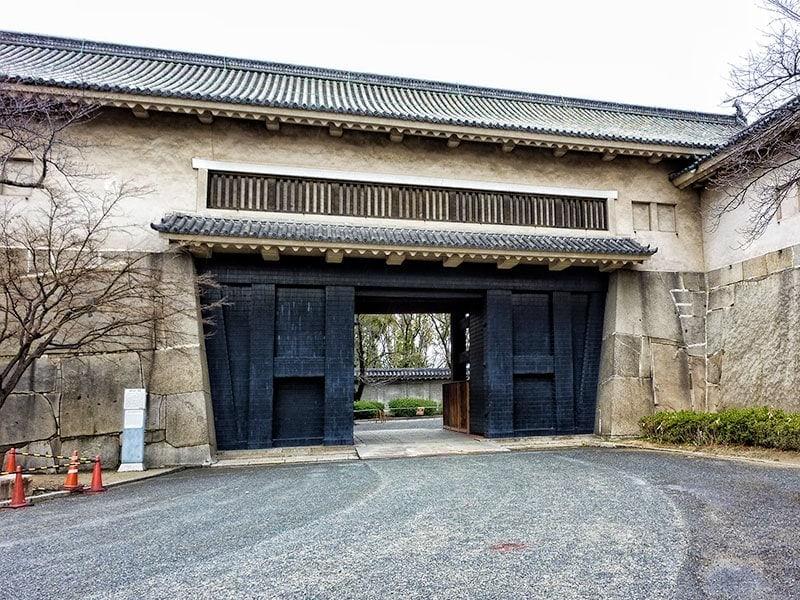 Ote-guchi gate to Osaka Castle