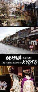 Explore the Kyoto geisha districts