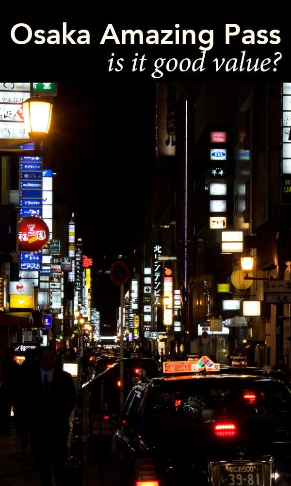Headed to Osaka? Wondering if the Osaka Amazing Pass is worth getting? Lets take a look with 2 Aussie Travellers