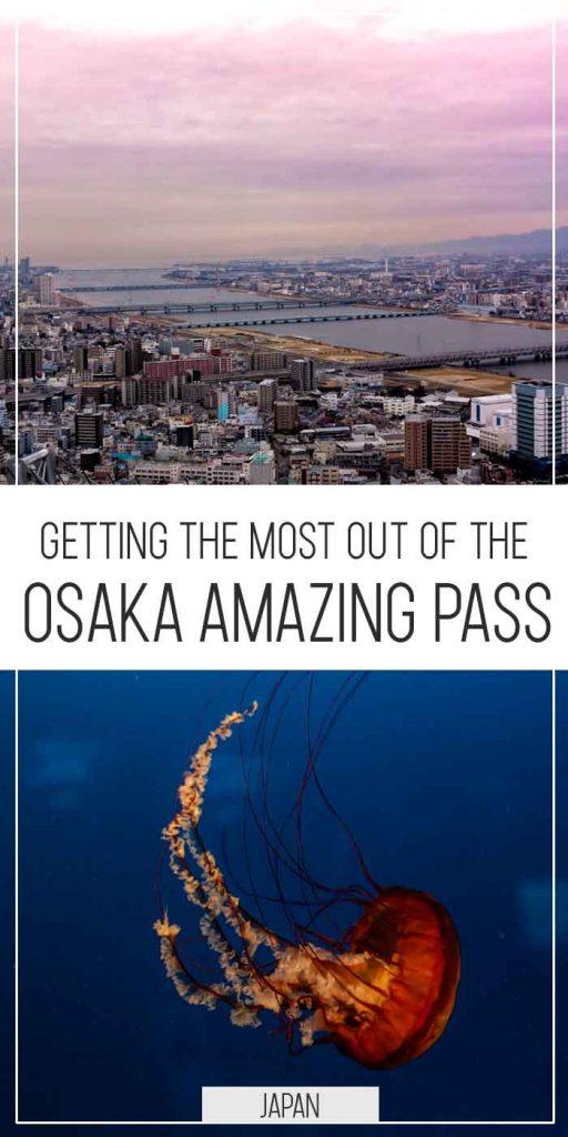 Osaka Amazing Pass pinterest poster