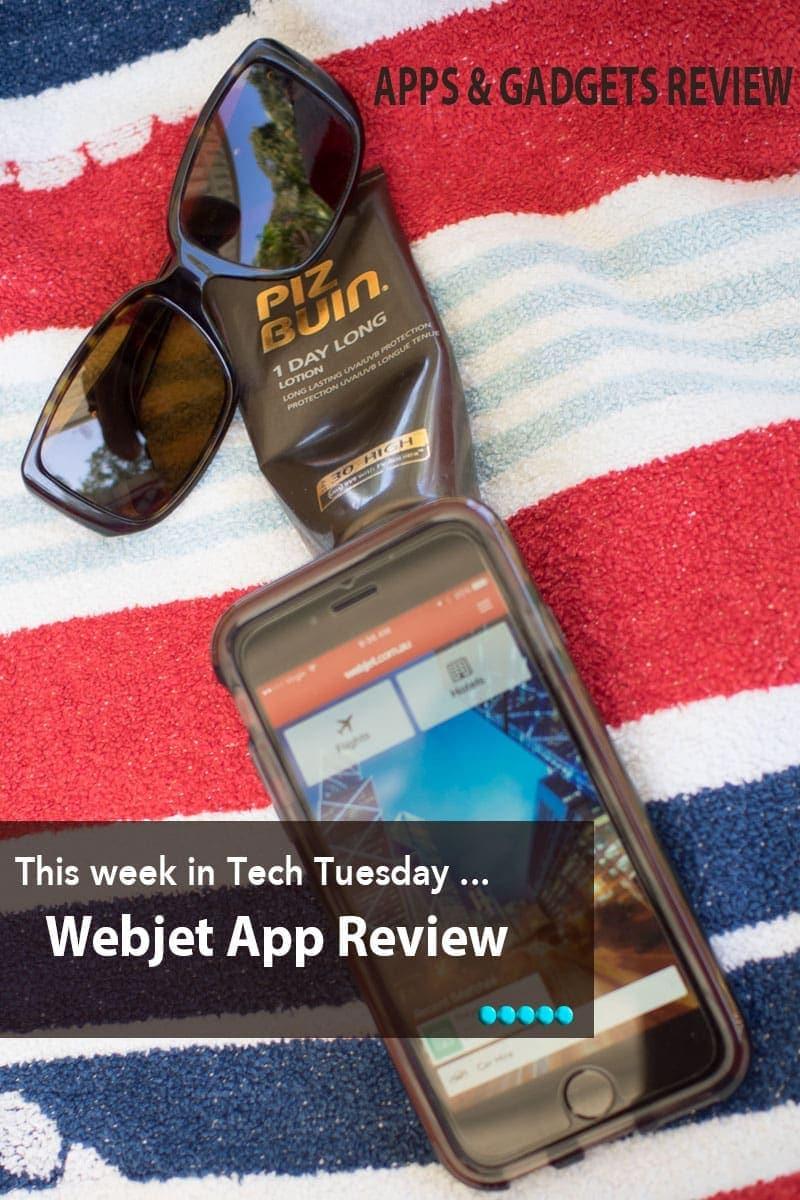 Webjet app review