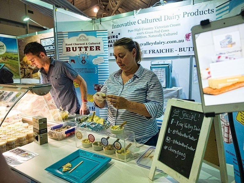 Brisbane Good Food and Wine Show - King Valley Dairy