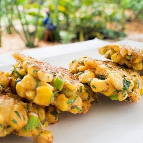 Herbed Sweet Corn Fritters