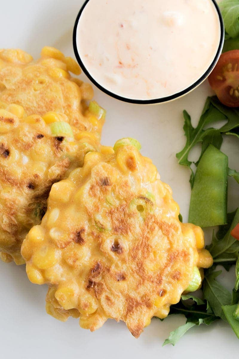 Recipe for Herbed Sweet Corn Fritters