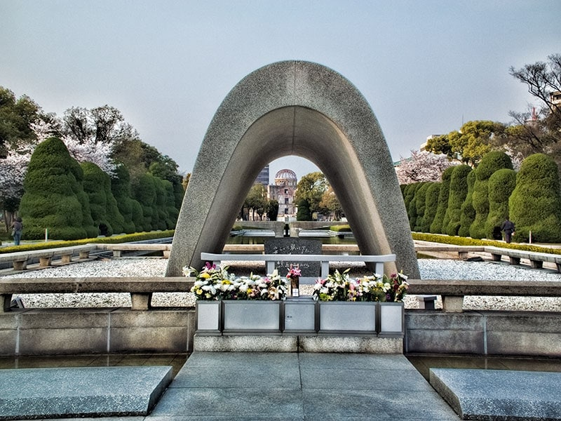 Hiroshima-Peace-Park-Cenotaph