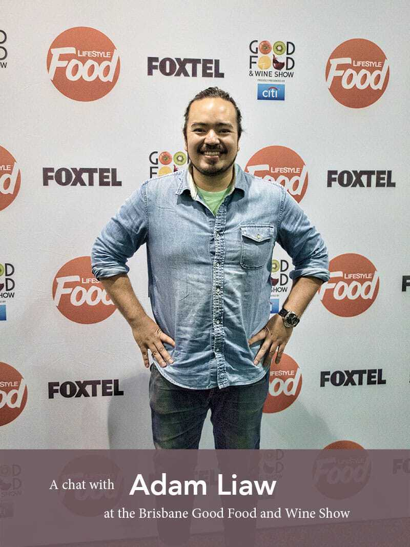A chat with Adam Liaw - one of my favourite foodie inspirations for Asian style cuisine