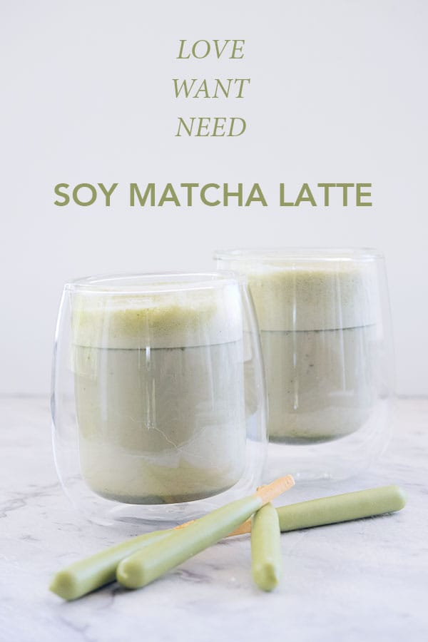 Try this delicious and simple soy matcha latte recipe next time you need a little treat.