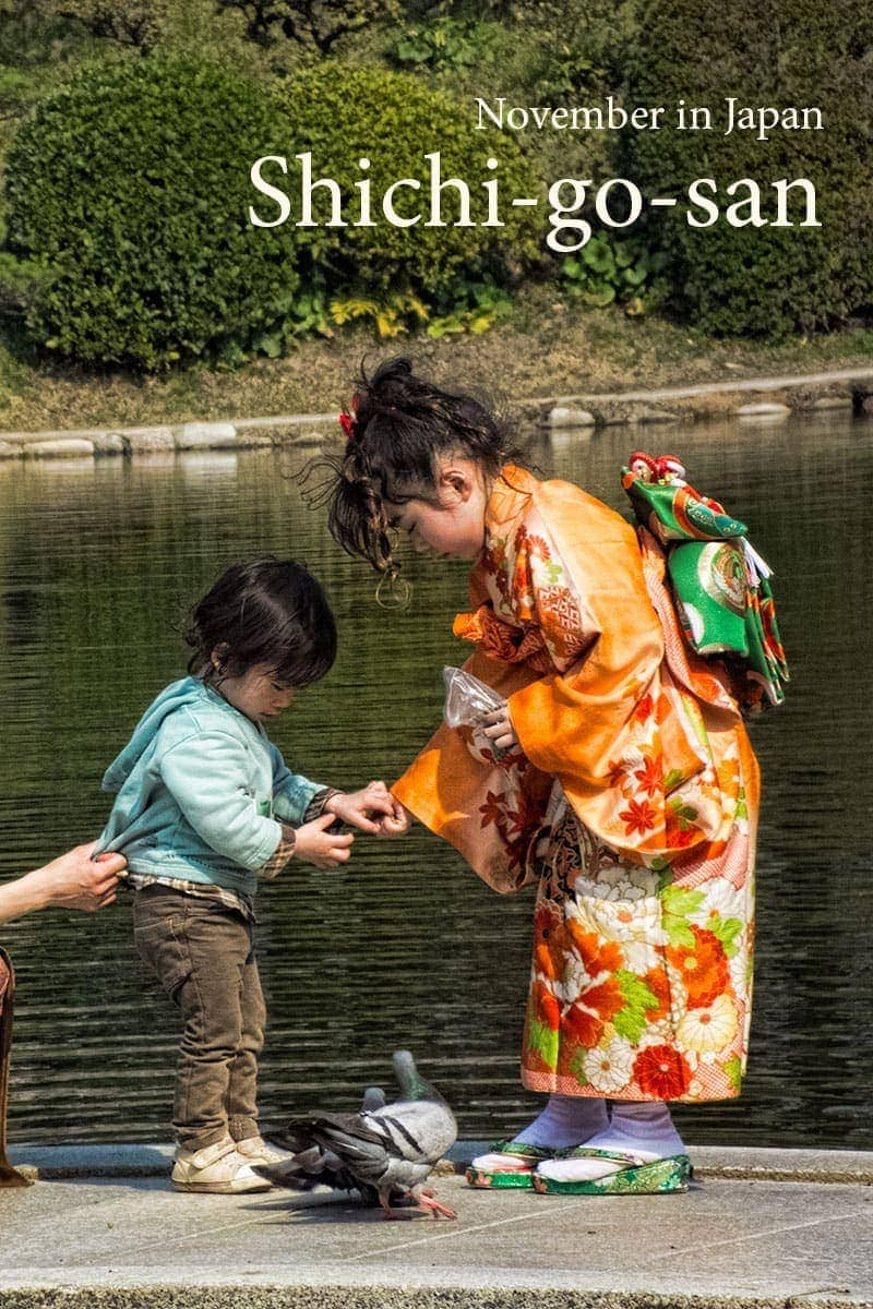 Shichi-go-san celebrations (Childrens Day) in Japan