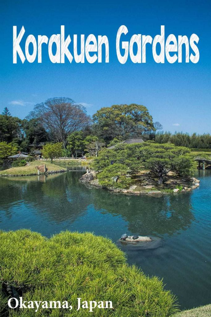 Visit the beautiful garden of Korakuen in Okayama, Japan