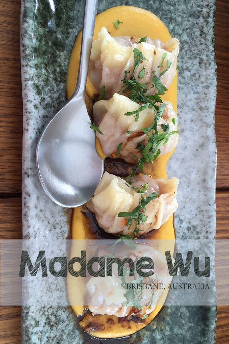 A review of Madame Wu in Brisbane