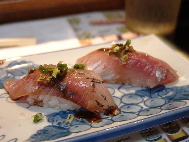 nigiri sushi types