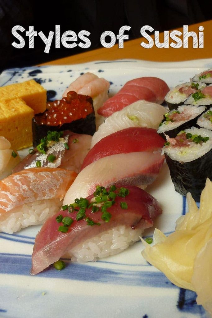 These are 7 of the most popular styles of sushi in Japan. Which ones have you tried? Which are your favourites?