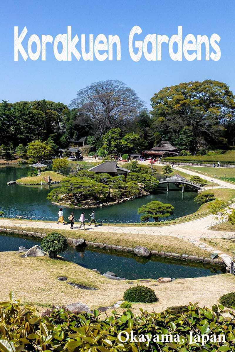Visit the beautiful garden of Korakuen in Okayama, Japan