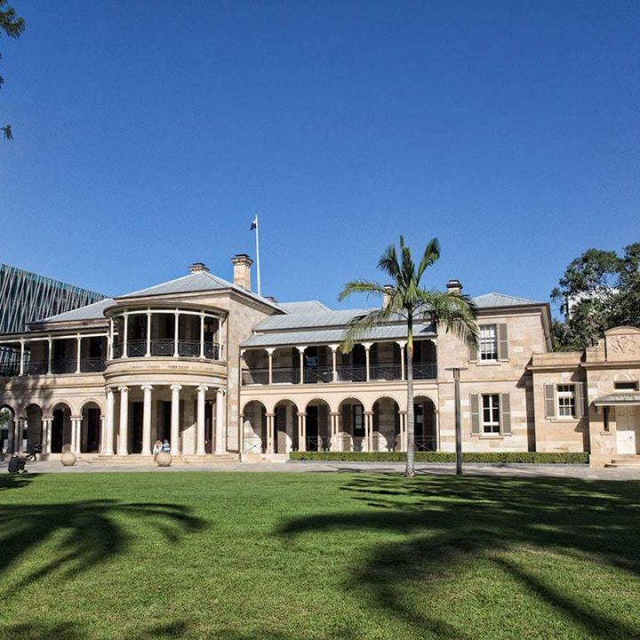 Brisbanes old government house