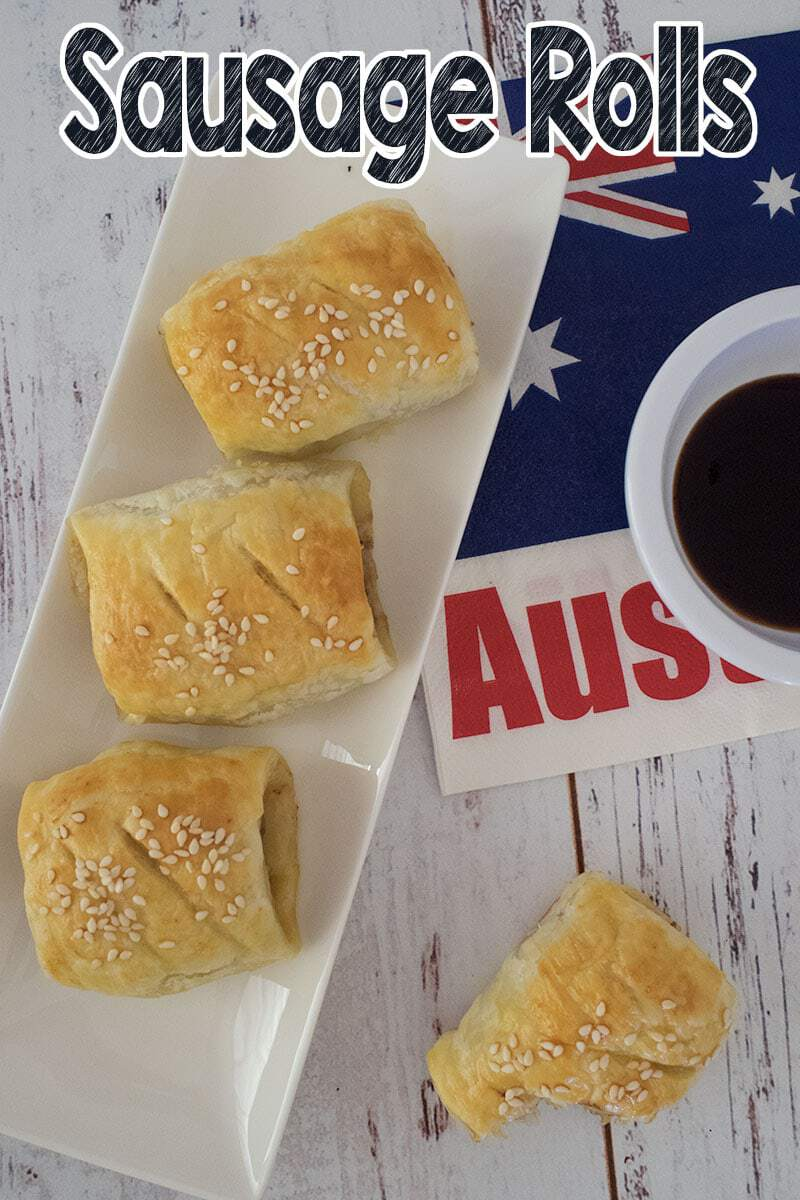 A simple and delicious recipe for beef sausage rolls. Great recipe to make ahead and freeze, then cook only what you need.