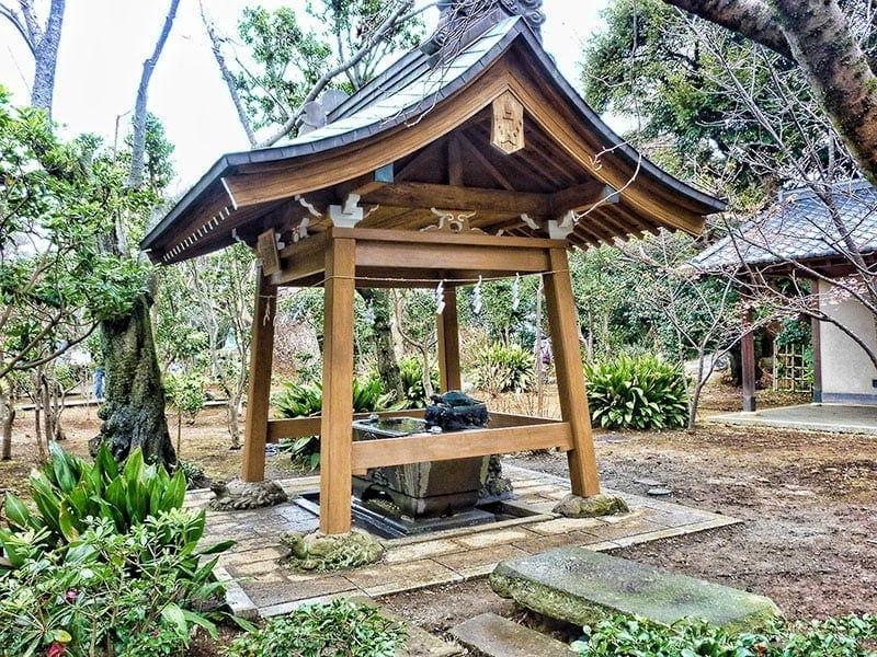 Okutsu No Miya Jinja on Enoshima Island