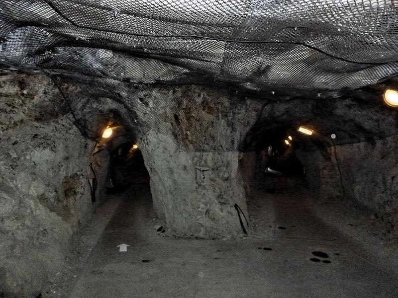 Twin tunnels in Iwaya Caves on Enoshima Island