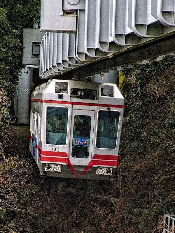 Shonan monorail from Ofuna to Enoshima