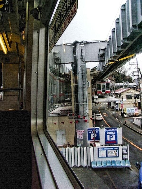 The Shonan monorail from Ofuna to Enoshima