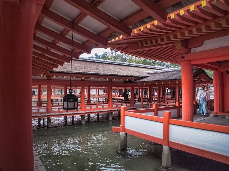 Itsukushima Shrine on Miyajima