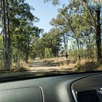 Rural road - safe driving in Australia tips