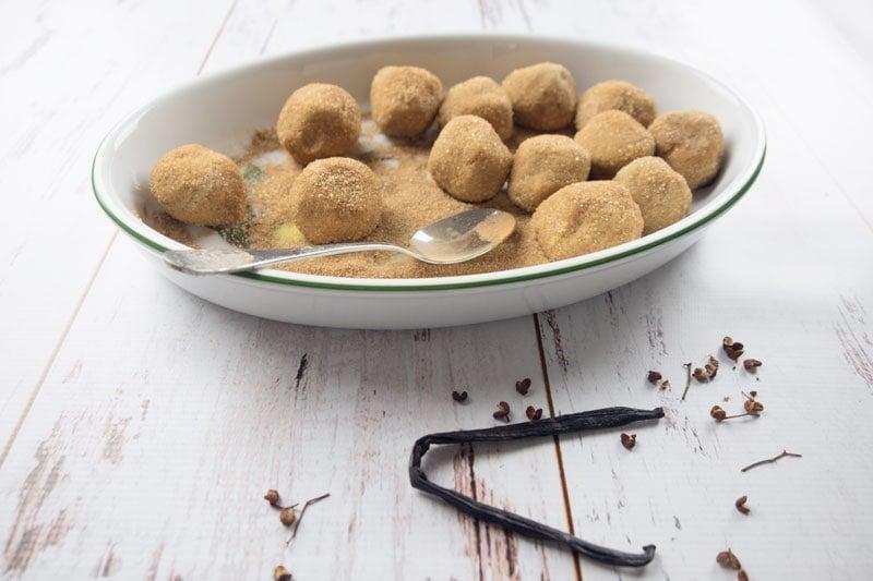 Making Chai spice sugar cookies