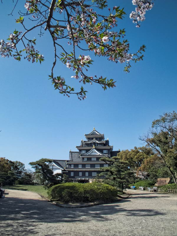 Planning a visit to Okayama Castle, Japan