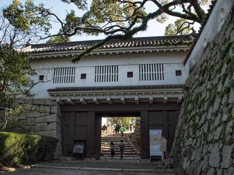 Rokamon gate at Okayama Castle