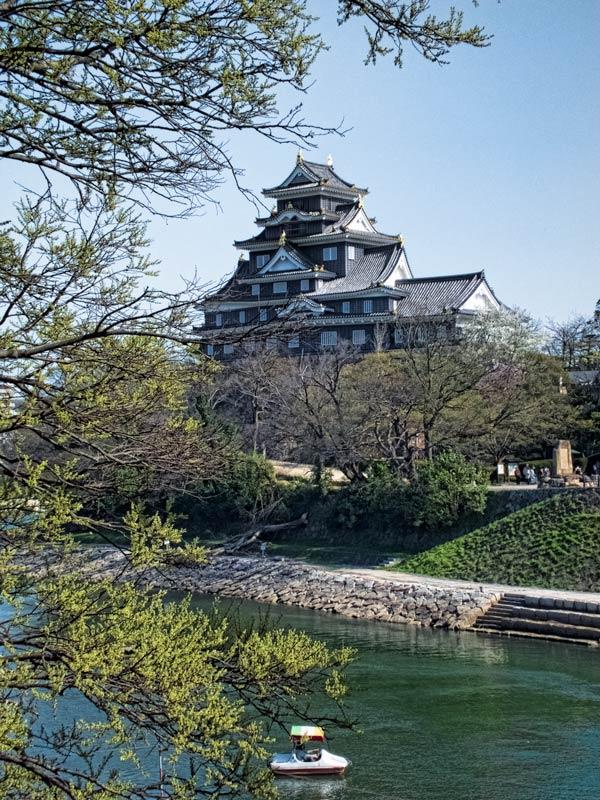 Planning a visit to Okayama Castle, Japan