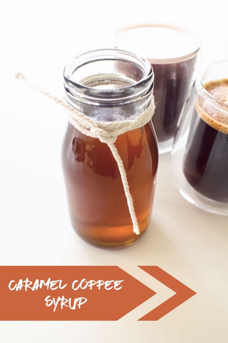 Making your own caramel coffee syrup is easy, economical and cuts out a load of chemicals