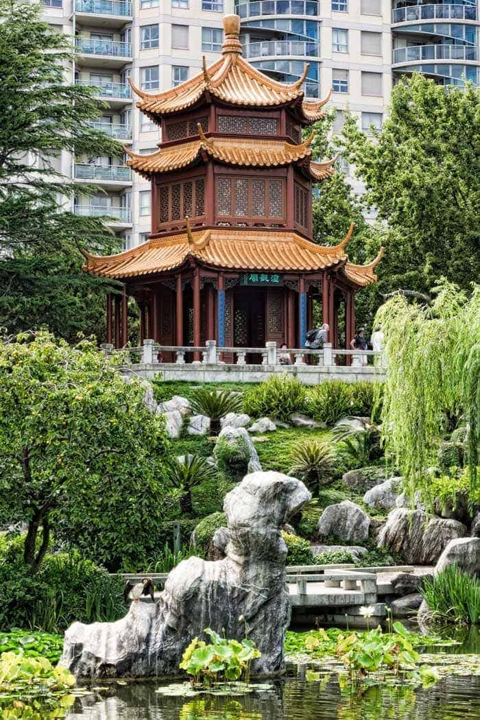 Chinese Friendship Garden in Sydney, Australia