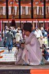 The Kenka-sai ceremony at Fushimi Inari Shrine in Kyoto