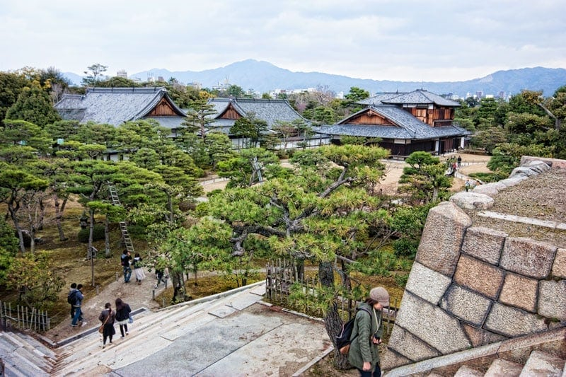 Nijo Castle in Kyoto, Japan