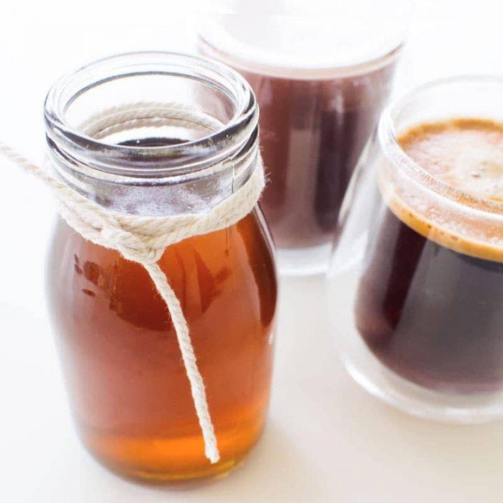 Caramel Coffee Syrup