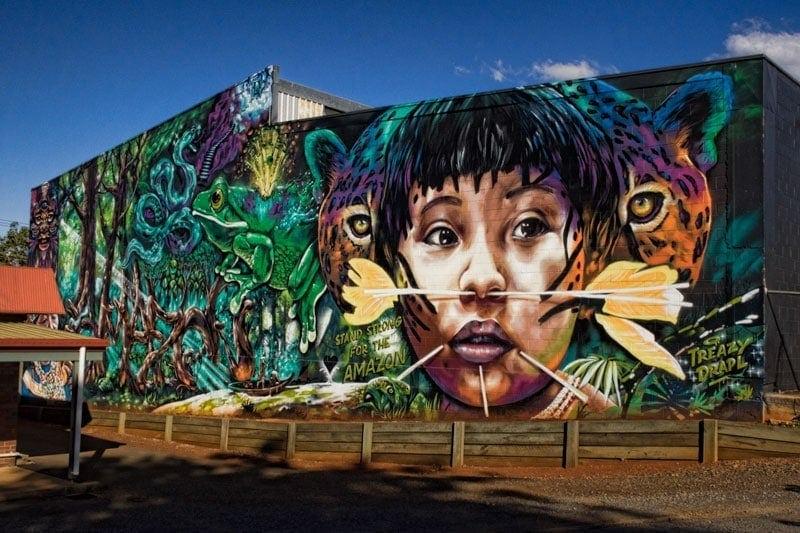 Toowoomba Street Art - Drapl