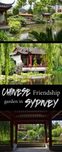 Chinese friendship garden in Sydney