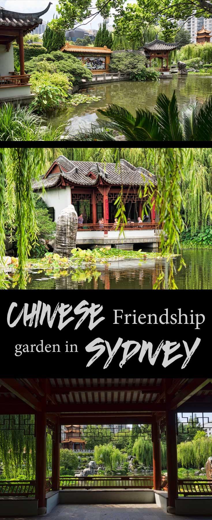 Chinese friendship garden in Sydney