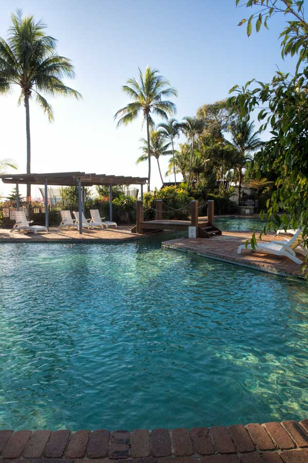 Tangalooma Island Resort Pool Area