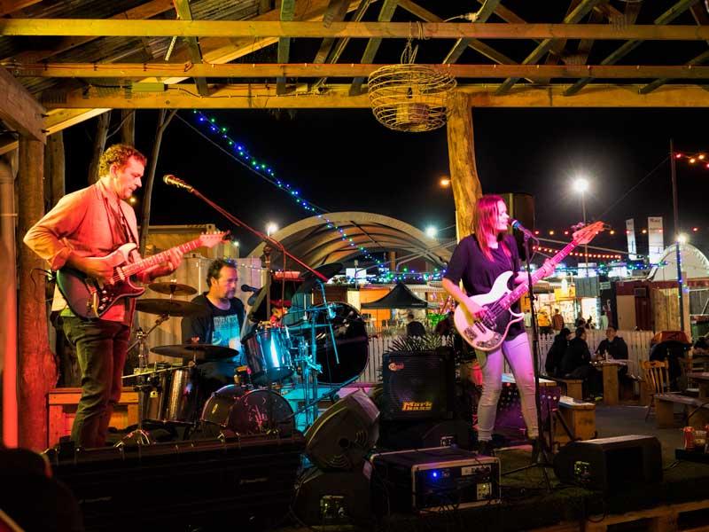 NightQuarter bands in XXXX Bar