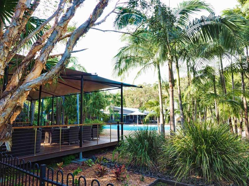 Angourie Resort pool