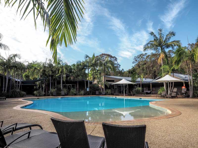 Angourie Rainforest Resort Pool