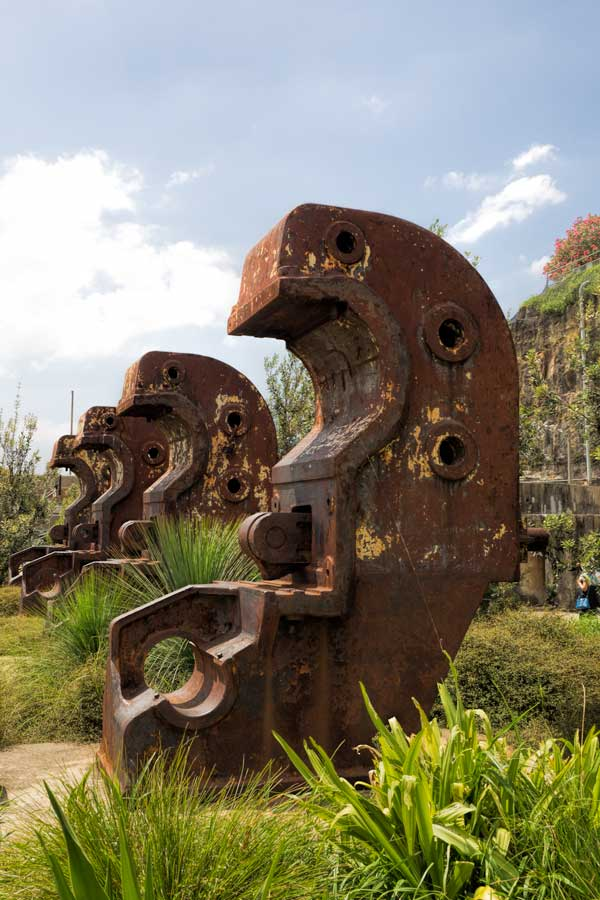 Cockatoo Island beam benders