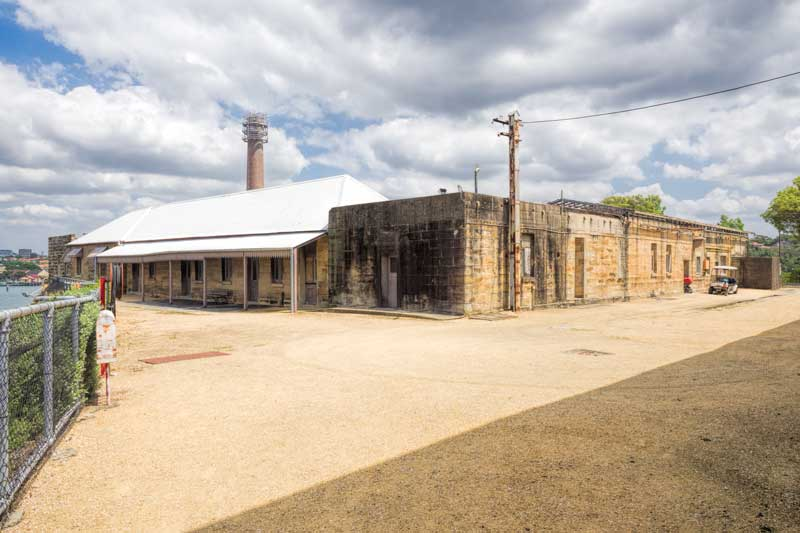 Cockatoo Island Convict Precinct