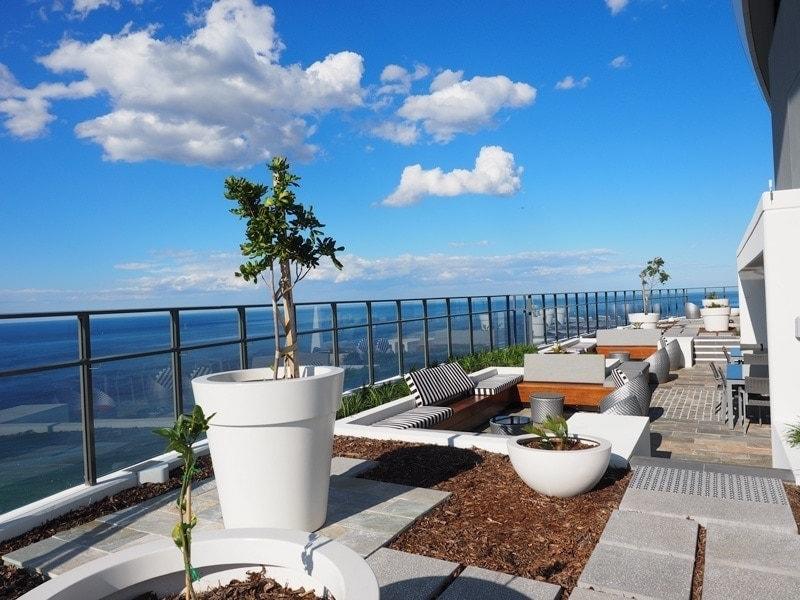 Rhapsody Resort roof top