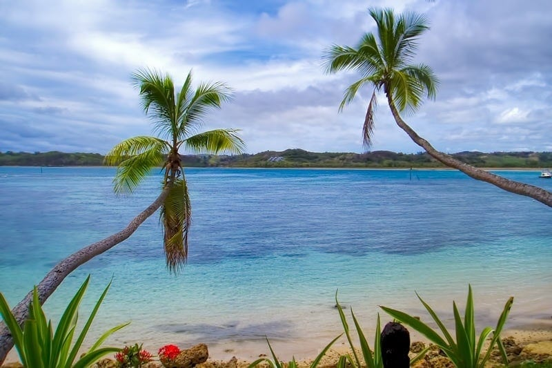 Fijian beaches - great for snorkelling off the sand