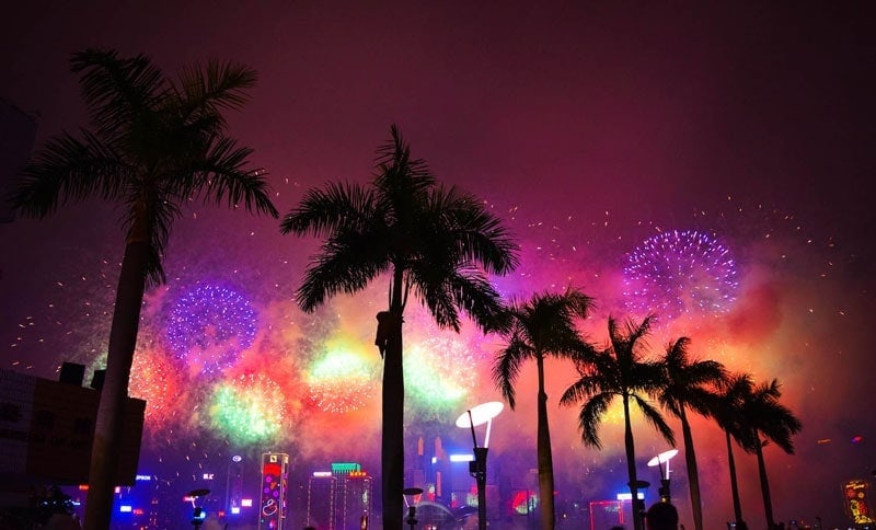 Chinese New Year in Hong Kong