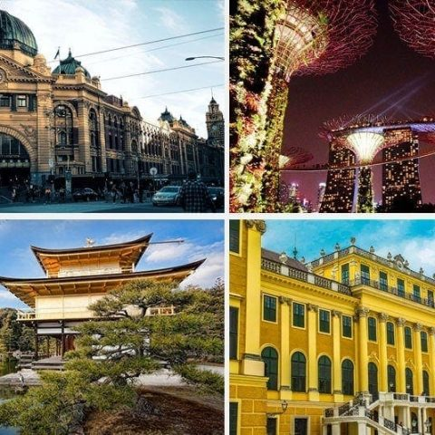 20 Top cities to visit in 2017