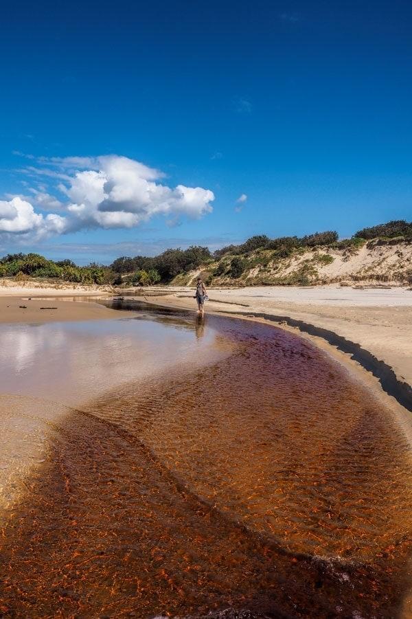 Mara Creek meets Angourie Beach