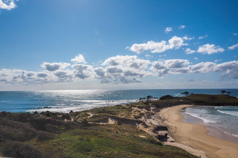 Angourie beach