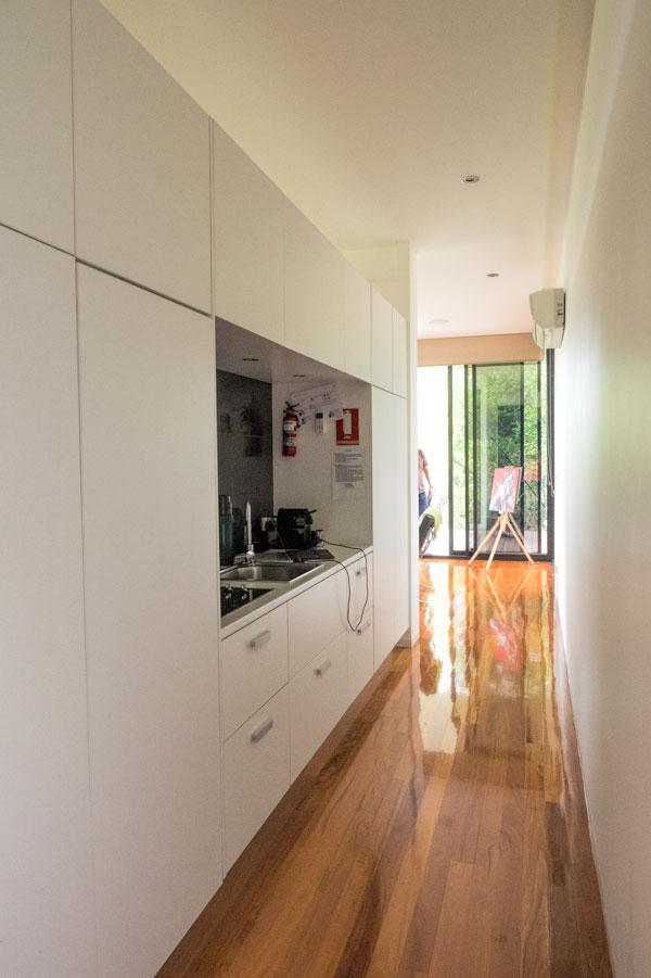 Glass on Glasshouse - pod kitchen